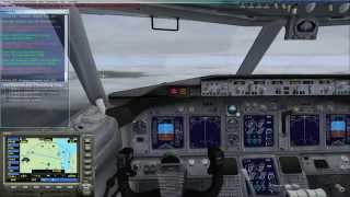 Microsoft Flight Simulator X не удачная посадка