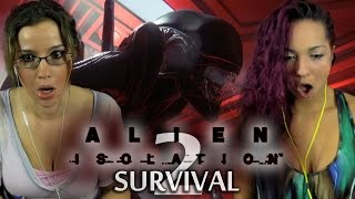 ALIEN PENETRATION! | Alien: Isolation | Survivor Mode | 2