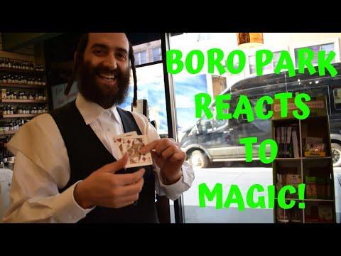 Boro Park Reacts to Magic!
