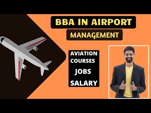 BBA In Airport Management   Aviation Courses  Career   Scope   Salary   Full Detailed