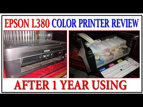 Epson L380 Colour Printer Review after Using in Bengali | Epson Printer Using Details