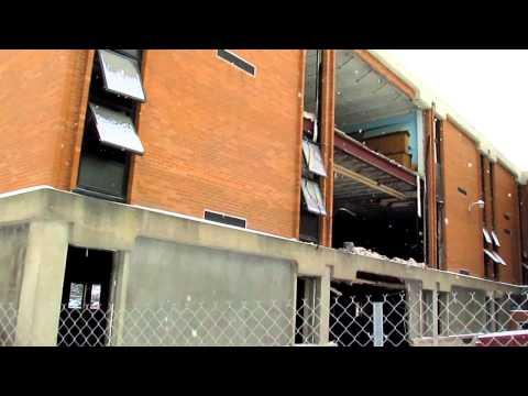 Demolition Update: Old Ravenna High School  1-25-13