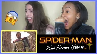SPIDER-MAN: FAR FROM HOME - Official Teaser Trailer (REACTION)