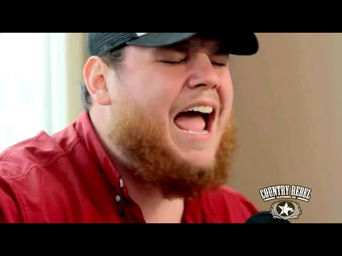 Luke Combs 'Hurricane' // Country Rebel Skyline Sessions - YouTube
