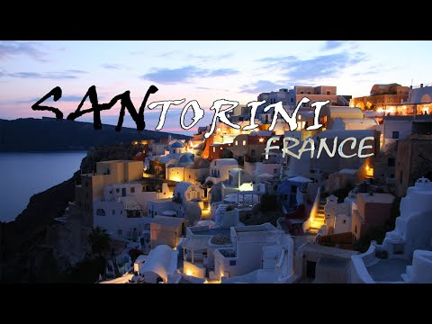 welcom to Santorini (Greece), an insanely beautiful island: sunset in 4k