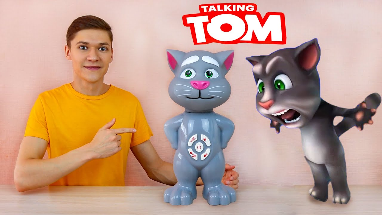 My Talking Tom Toy Unboxing - Singing Cat Review