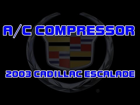 ⭐ 2003 Cadillac Escalade - How To Replace The A/C (Air Conditioning) Compressor
