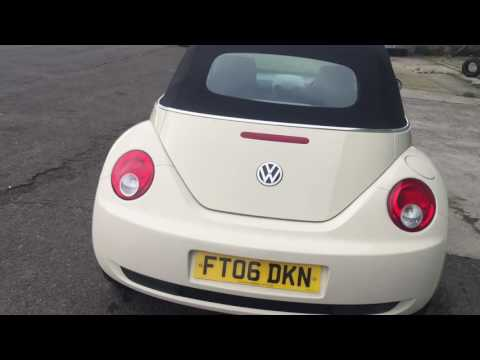 VOLKSWAGEN BEETLE CONVERTIBLE 1.6 2006 Luna FOR SALE