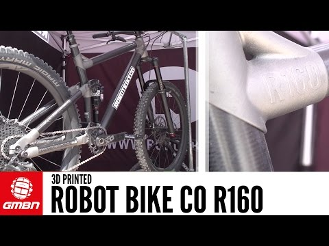 Robot Bike Co R160 | 3D Printed Ti and Carbon Custom Bikes