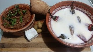 MEMORIES OF MACEDONIA ~ MAKALO 2 Ways (Side Dishes/Dips/Spreads)