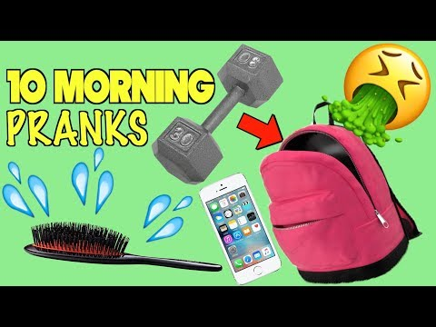 10 Back To School Pranks You Can Do In The Morning - HOW TO PRANK | Nextraker