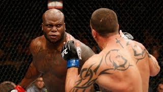 """Derrick """"The Black Beast"""" Lewis MOST SAVAGE MMA Knockout Compilation"""