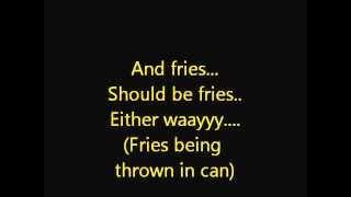 Just A Greasy Spoon Lyrics - Spongebob Squarepants