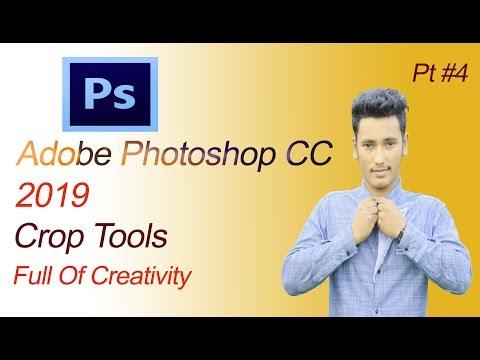 Adobe Photoshop CC Bangla Tutorial  Pt 4 Crop Tools thumbnail