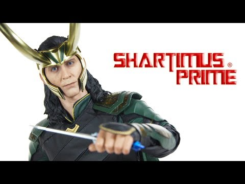 Hot Toys Loki Thor Ragnarok Marvel Studios Movie 1:6 Scale Collectible Action Figure Review