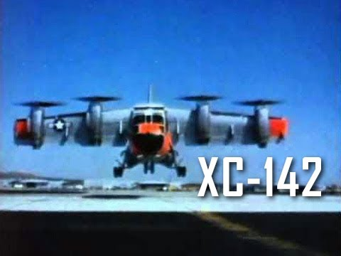 XC-142 VTOL Test Aircraft