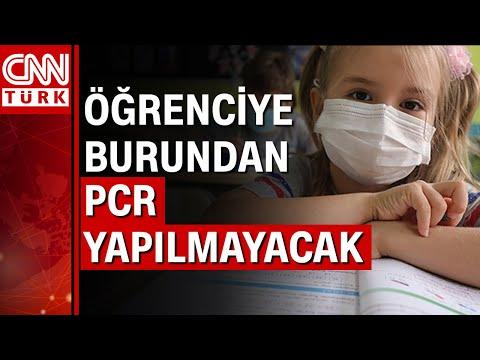 Milli Eğitim Bakanı Mahmut Özer'den öğrencilere PCR testi açıklaması