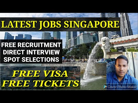 Singapore free recruitment jobs, free jobs singapore 2020.