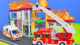 PLAYMOBIL Film deutsch: Feuerwehrmann in der Schule & Kita | Kinderfilm / Kinderserie