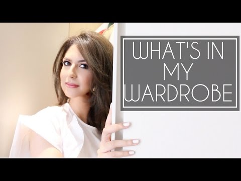 CLOSET /WARDROBE TOUR | How to Organise a Small Wardrobe | JASMINA PURI