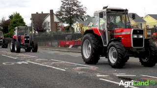 AgriLand catches up with three stunning MF 300 Series tractors...at McCullagh Machinery