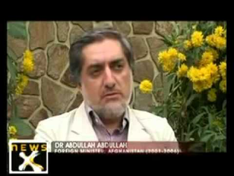 Dr abdullah very funny interview by noorahmad afghan