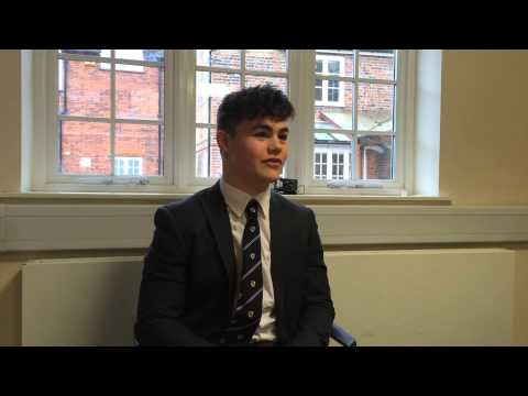 BBC School Report: Rugby Interview