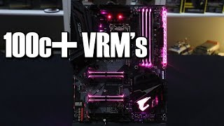 gigabyte z370 ultra gaming vrm issues are back
