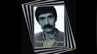 Abdullah Papur - Yine Ağlamışsın - Official Music [ © ŞAH PLAK ]