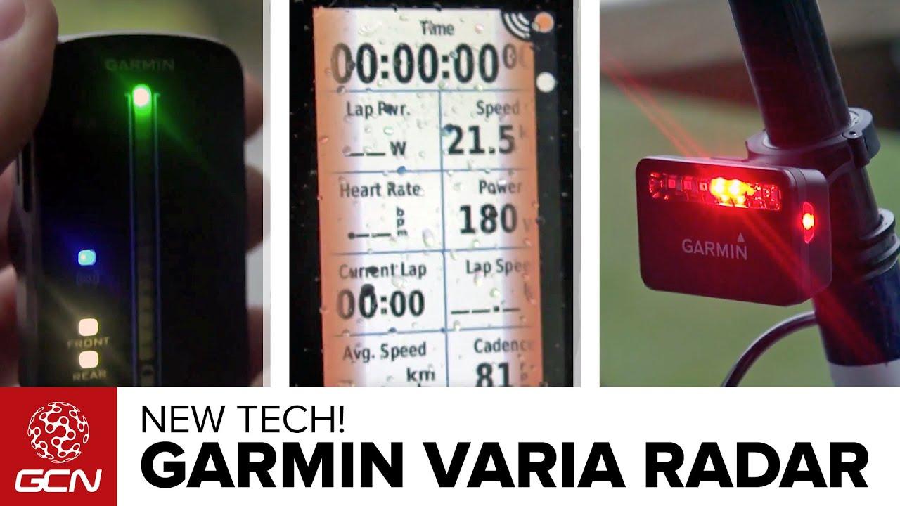 How Does The Garmin Varia Bike Radar System Work?
