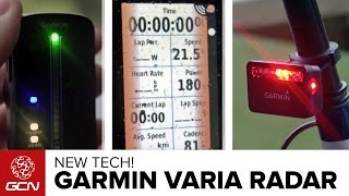 How Does The Garmin Varia Bike Radar System Work?
