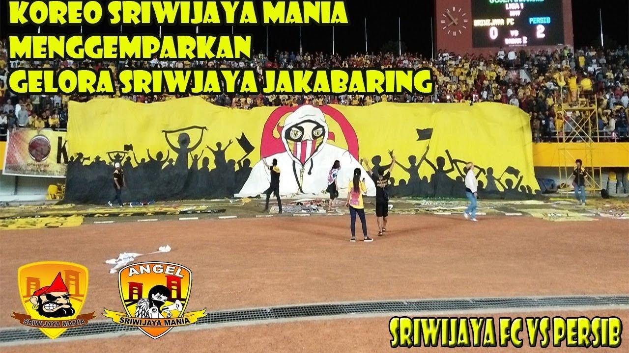 Sriwijaya Mania Beraksi Saat Sriwijaya Fc Melawan Persib Bandung