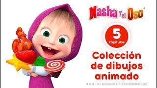 Masha Y El Oso - Сolección 4 🎬  Dibujos Animados En Español!