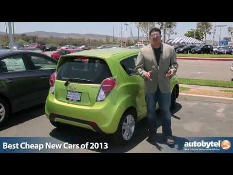 Best Cheap New Cars of 2013 - Autobytel's Top 10 Affordable Cars