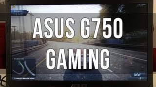 ASUS G750 / G750JX gaming performance review