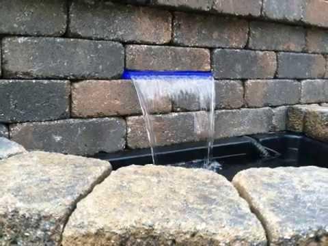 Ubbink waterval mamba led funnydog tv for Wasserfall mamba