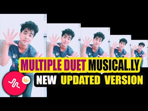 MULTIPLE DUET MUSICAL.LY TUTORIAL NEW UPDATED VERSION IN HINDI |MONSTER CHALLENGE TUTORIAL BOXES#NEW