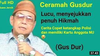 Download lagu Gus Dur - Ceramah Lucu Menyejukkan Penuh Hikmah