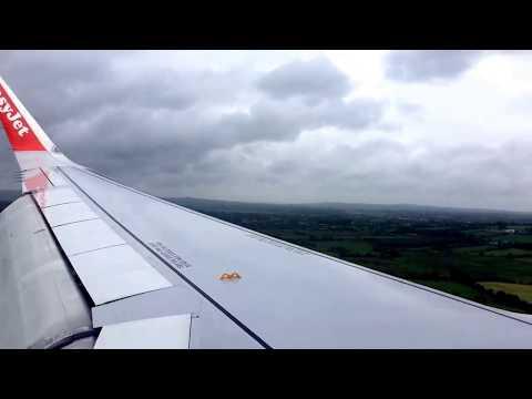 Bumpy landing with strong crosswinds into Belfast International.