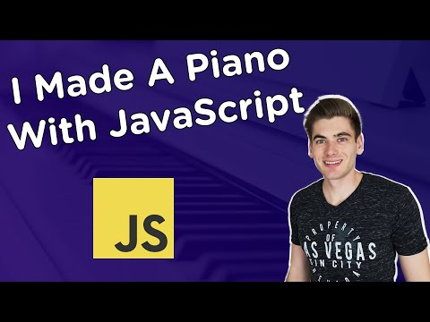 Build A Piano With JavaScript - Tutorial