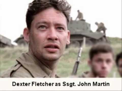 Dexter Fletcher Ssgt. John Martin  1 of 6: BAND OF BROTHERS CAST S 201011