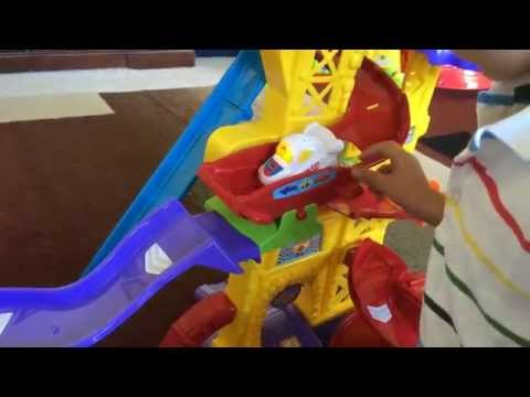 vtech-go!-go!-smart-wheels-ultimate-amazement-park-play-set-unboxing-&-playtime-review