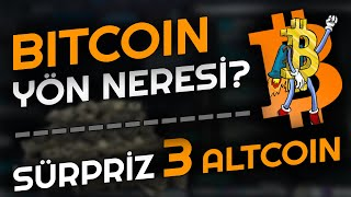 BU 3 ALTCOIN ALINIR! Bitcoin Şimdi Ne Olacak? Hafta Kapanışı Öncesi Bitcoin Analizi   Altcoin Sepeti