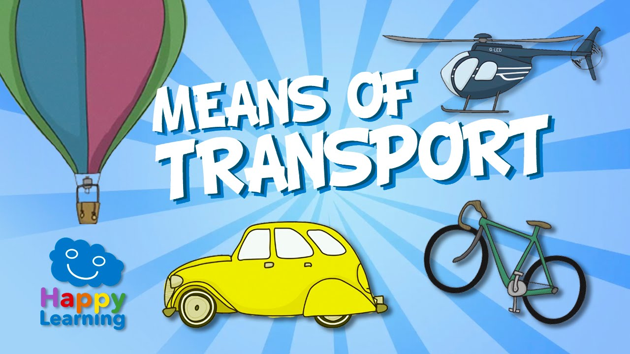 c46539ef3 Los Medios de Transporte en Inglés | Videos Educativos para Niños - YouTube