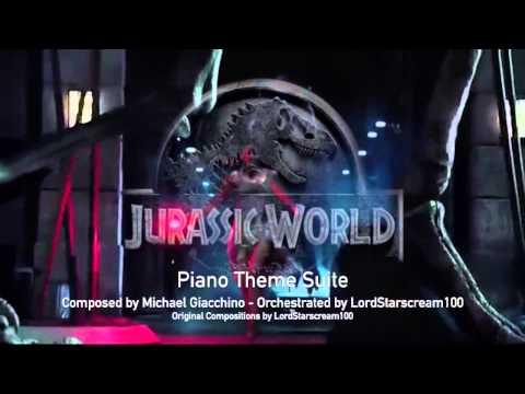 Jurassic World Theme - Piano Suite