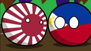 WW2 in Asia explained in 1 minute and 38 seconds | Countryballs