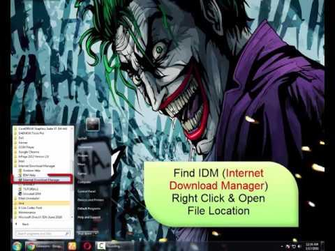 Add IDM In Any Browser (chrome/Mozilla Firefox/Opera/UC Browser,,etc