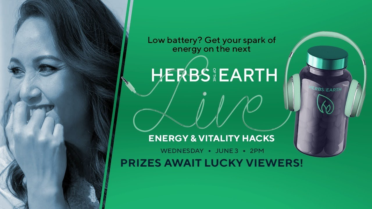 Energy and Vitality Hacks from Herbs of the Earth