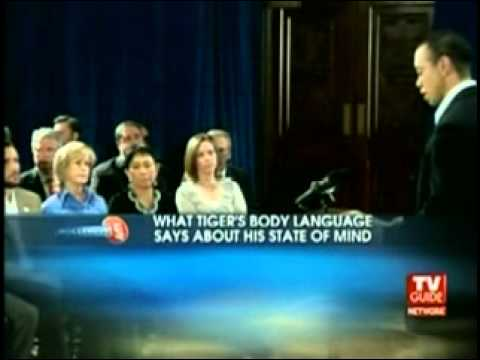 BODY LANGUAGE - Tiger Woods' Apology - Dr. Sheri Meyers on TV Guide Network