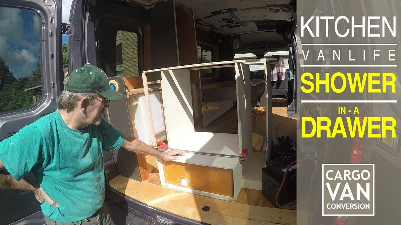 RV Kitchen Unit & Van Shower